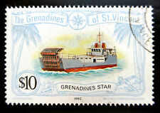 St VINCENT GRENADINES 1982 $10 SG224 Fine/Used BN1563