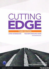 CUTTING EDGE Upper-Intermediate THIRD EDITION Teacher's Book w Resource Disc NEW