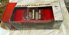 NEW Motor Max 1960 Chevrolet Impala Car Die Cast Collection 1:18 Red NIB