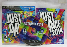 Just Dance 2014 PS3 (Sony PlayStation 3, 2013) Complete with Manual