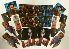 Horror Sticker Set - Scary Film image Stickers - Classic Movie Characters