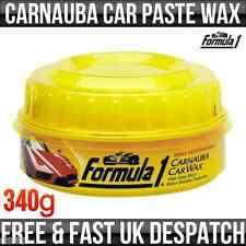 Auto Car Products Carnauba Paste Wax and Applicator Pad