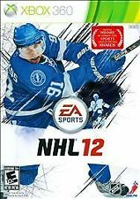 NHL 12 (Microsoft Xbox 360, 2011) GOOD