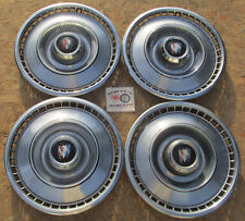 "1966 BUICK LESABRE, ELECTRA 15"" WHEEL COVERS, HUBCAPS, SET OF 4 ~NO RESERVE~"