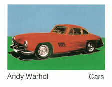 ANDY WARHOL - 300 Sl Coupe, 1954 ART PRINT 27.5x35.5 Mercedes Benz Poster