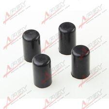 "4pcs 25mm 0.99"" Silicone Blanking Cap Intake Vacuum Hose End Bung Plug Cap Black"