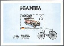 Gambia 1986 Vintage Cars/Benz 100th /Transport/Motors/Motoring 1v m/s (s5242)