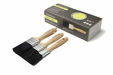 HAMILTON 23120-003 PRESTIGE PURE BRISTLE FLAT PAINT BRUSH 3PC SET