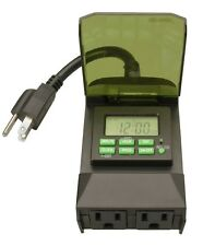Coleman Cable 50014 Outdoor 7-Day Digital Timer
