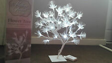 SPECIAL OCCASSIONS FIBRE OPTIC FLOWER TREE LIGHT WARM WHITE LIGHTS LAMP 45cm