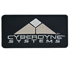 Cyberdyne Systems Iron On Patch Terminator Movie Film Cosplay Costume Sci Fi