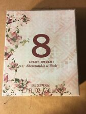 NEW Abercrombie & Fitch Women's 8 EVERY MOMENT Perfume 1.7 oz / 50ml