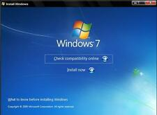 Windows 7 Ultimate 32-bit & 64-bit DVD Licenza a vita completa