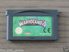 JEU NINTENDO GAMEBOY ADVANCE   WARIOLAND 4
