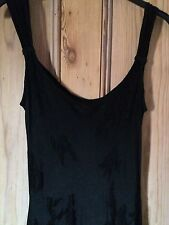 Ghost Lovely Long Black Dress Size M Pretakeover Classic Ghost Glamour
