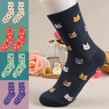 Korean Fashion Women Girl Cute Cat Socks Animal Cartoon Cotton Hosiery Socks CA