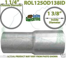 """1 1/4""""OD to 1 3/8""""ID Universal Exhaust Component to Pipe Adapter Reducer"""