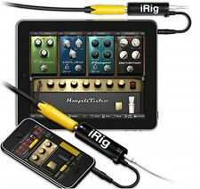 IK Multimedia AmpliTube iRig Guitar Interface Adaptor For IOS Device
