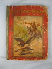 The Swiss Family Robinson Vintage Book 1940s Illustrated McLoughlin (O) AS IS