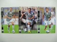 Panini Football League PFL 06 ~ 09 Juventus Regular cards complete set PIRLO
