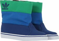 Adidas Originals Kids Unisex Winter Vulc K Primaloft Boot G95304 Blue/Green UK 1