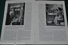 1940 magazine article MODERN AVIATION, commercial & military, flying, airplanes