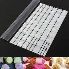 Plastic Letters Cake Baking Molds Cutter Fondant Biscuit Cookie Stamp Embosser
