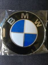 New Hood  Front Emblem Badge E36 E39 E46 E90 M3  BMW 82mm 51148132375 USA Seller