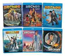Archer: The FX TV Series Complete Seasons 1 2 3 4 5 6 Boxed / BluRay Set(s) NEW!