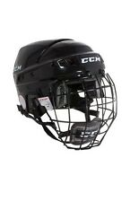 CCM HT04 ice hockey helmet cage combo black medium new face mask intermediate M