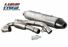 HGS HONDA CRF 450 2015 FULL EXHAUST SYSTEM FREE EXPRESS EU DELIVERY