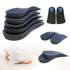 3/4 Orthotic Arch Support Feet Pronation Fallen Insole Shoe Cushion Pad Running