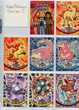 Complete Topps Pokemon Series 2, TV Animation Set! - 72 New condition cards!