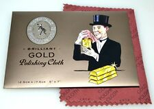 "Town Talk Gold Jewellery Cleaning & Polishing Cloth, 5""X7"" Brand NEW"