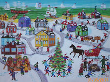 PUZZLE....JIGSAW....SERMOS.....Christmas By The Sea......500.Pc...Sealed