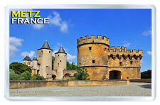 METZ FRANCE MOD1 FRIDGE MAGNET SOUVENIR IMAN NEVERA