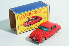1962 Matchbox - No 65 / 1 Jaguar 3.4 Litre Saloon - Lesney Prod. OVP