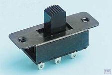 GM501 Gaugemaster N/TT/OO/O/G Scale DPDT Slide Switch