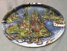 CYKLISTEN BRICKA decorative plate nordic desings stockholm