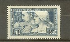 "FRANCE STAMP TIMBRE N° 252 "" CAISSE AMORTISSEMENT LE TRAVAIL 1928 "" NEUF xx TTB"