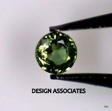GREEN SAPPHIRE 3 MM ROUND CUT ALL NATURAL AAA