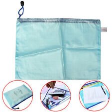 A4 Zippy Bag Zip Closure Document Paper File Storage Protective Wallet Sleeve