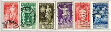Italy WW2 Mussolini's Regime 6 stamps set 1937