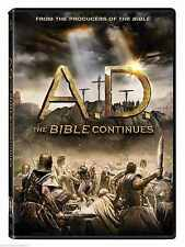 SEALED - A.D. The Bible Continues DVD NEW 4 Disc Set Ships Today ! SHIPS FAST !