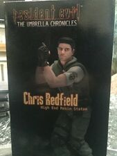 NEW CAPCOM RESIDENT EVIL CHRIS REDFIELD THE UMBRELLA CHRONICLES 1/6 STATUE