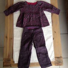 Ensemble Fille Sergent Major 2 Ans Pantalon Tunique