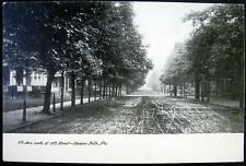 BEAVER FALLS PA ~  1900's 8th Avenue North of 10th Street ~ Un-Paved Road