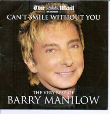 BARRY MANILOW  - THE VERY BEST OF - MAIL ON SUNDAY PROMO CD@@LOOK@@