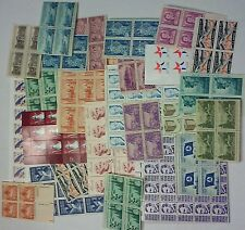 UN-USED 200 of US Postage, Multiples and Singles of 3¢ Stamps.  FV = $6.00