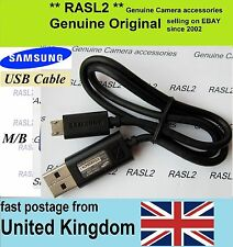 ORIGINALE Samsung USB Cavo DV300F MV800 NX300 DV150F dv151f dv155f WB850F ST76